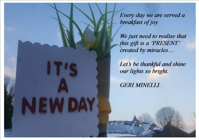 Its A New Day - Lets Be Thankful