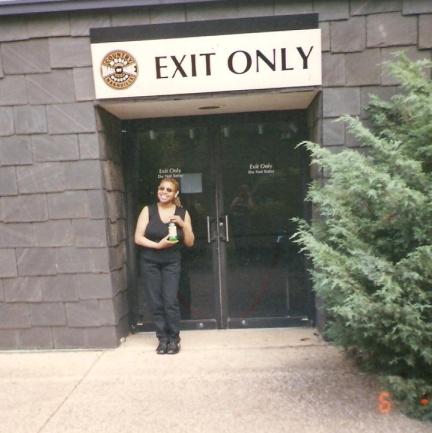 Opry backstage door