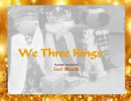 Geri sings We Three Kings COVER gold